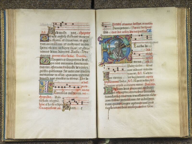 CHANTILLY, Bibliothèque du château, 0048 (1605), f. 042v - 043