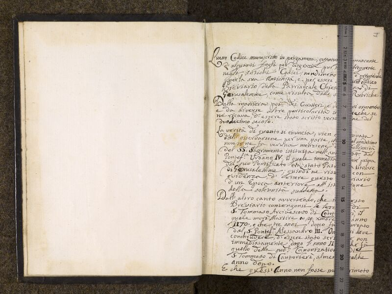 CHANTILLY, Bibliothèque du château, 0050 (1076), f. 000Av - 000B avec réglet