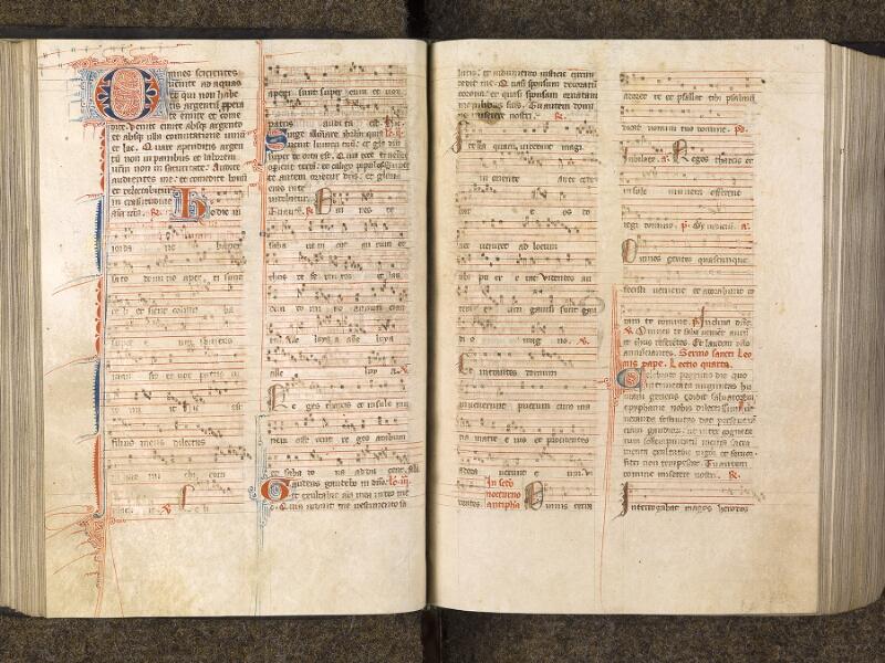 CHANTILLY, Bibliothèque du château, 0050 (1076), f. 102v - 103