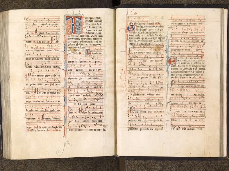 CHANTILLY, Bibliothèque du château, 0050 (1076), f. 413v - 414