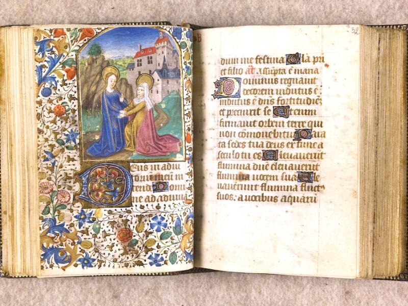 CHANTILLY, Bibliothèque du château, 0063 (1366), f. 031v - 032