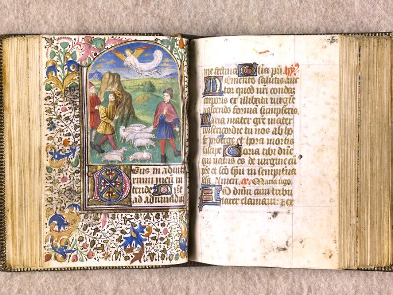 CHANTILLY, Bibliothèque du château, 0063 (1366), f. 049v - 050