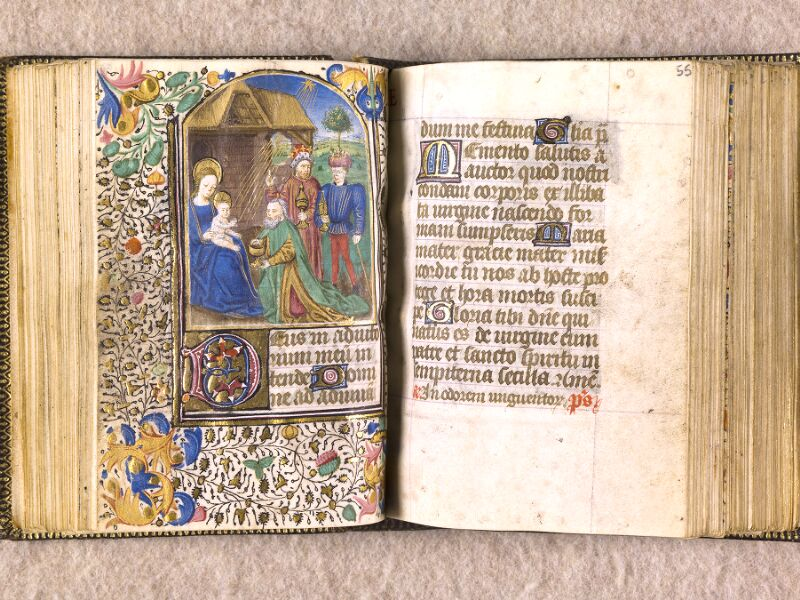 CHANTILLY, Bibliothèque du château, 0063 (1366), f. 054v - 055