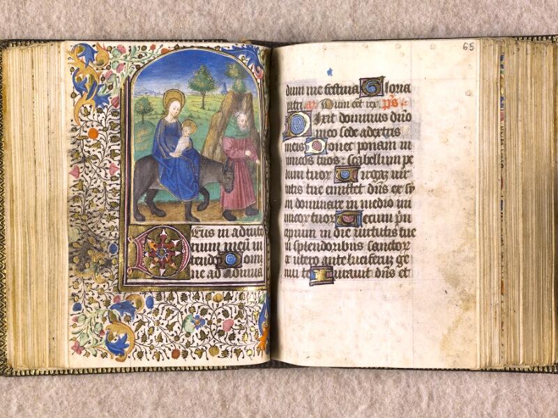 CHANTILLY, Bibliothèque du château, 0063 (1366), f. 064v - 065