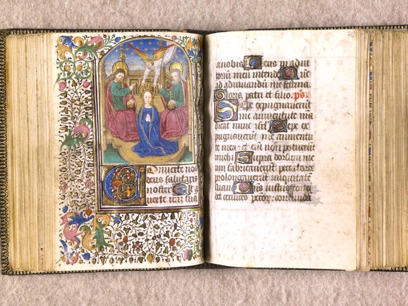 CHANTILLY, Bibliothèque du château, 0063 (1366), f. 073v - 074