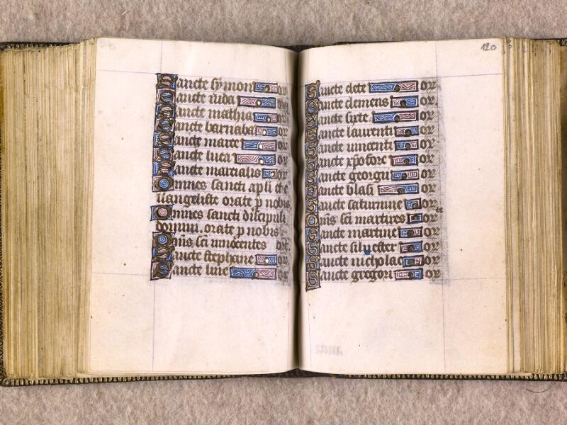 CHANTILLY, Bibliothèque du château, 0063 (1366), f. 119v - 120