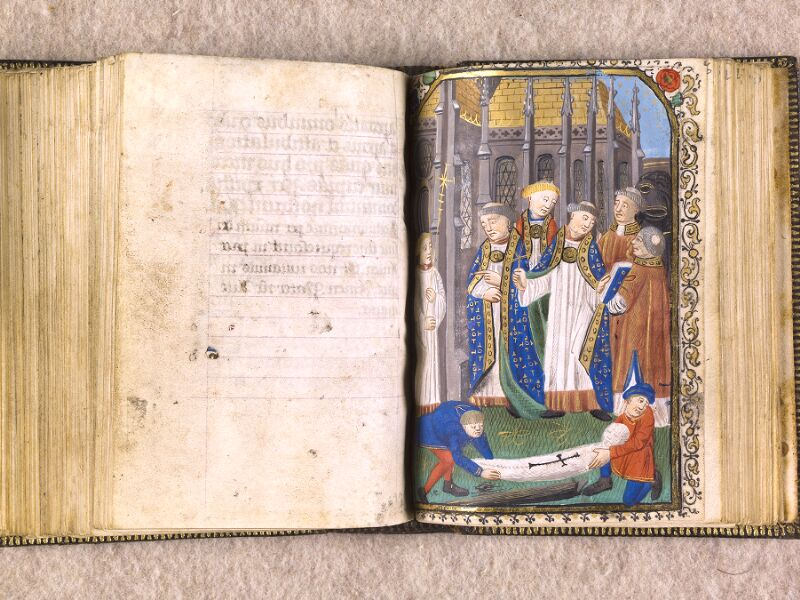 CHANTILLY, Bibliothèque du château, 0063 (1366), f. 124v - 125