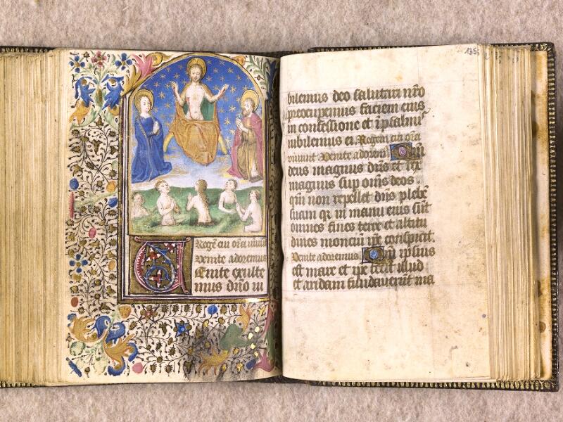CHANTILLY, Bibliothèque du château, 0063 (1366), f. 134v - 135