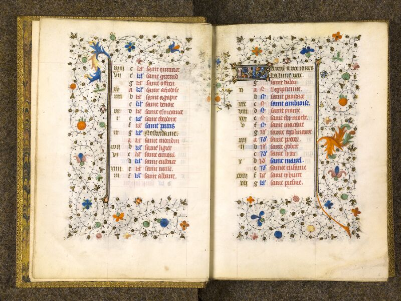 CHANTILLY, Bibliothèque du château, 0067 (1371), f. 003v - 004