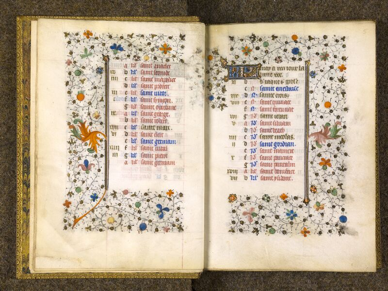 CHANTILLY, Bibliothèque du château, 0067 (1371), f. 004v - 005