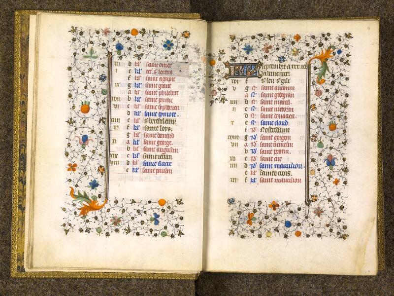 CHANTILLY, Bibliothèque du château, 0067 (1371), f. 008v - 009