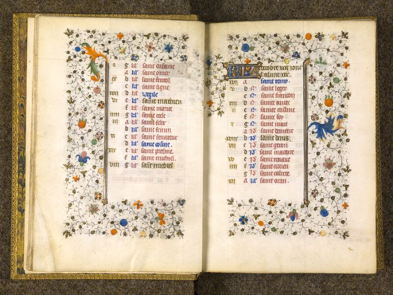 CHANTILLY, Bibliothèque du château, 0067 (1371), f. 009v - 010