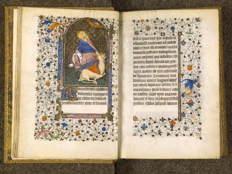 CHANTILLY, Bibliothèque du château, 0067 (1371), f. 017v - 018