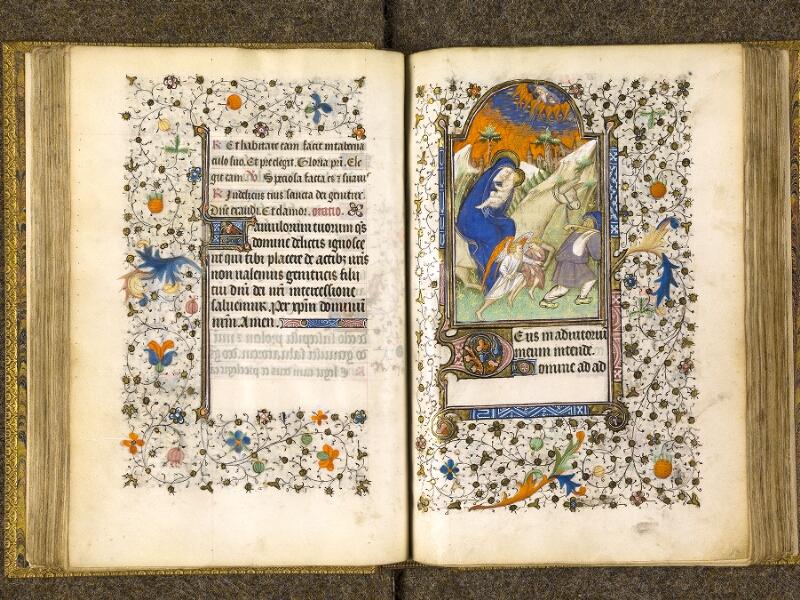 CHANTILLY, Bibliothèque du château, 0067 (1371), f. 062v - 063