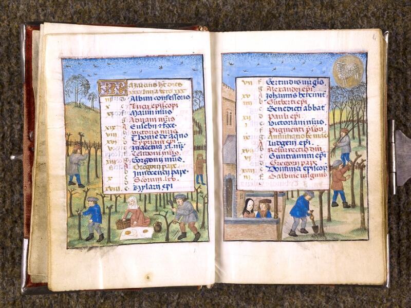 CHANTILLY, Bibliothèque du château, 0068 (1141), f. 003v - 004