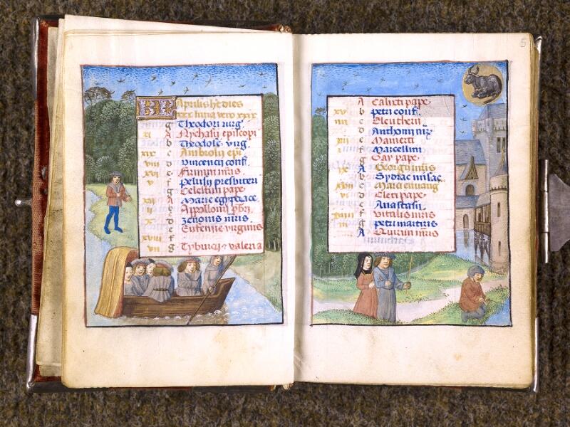 CHANTILLY, Bibliothèque du château, 0068 (1141), f. 004v - 005