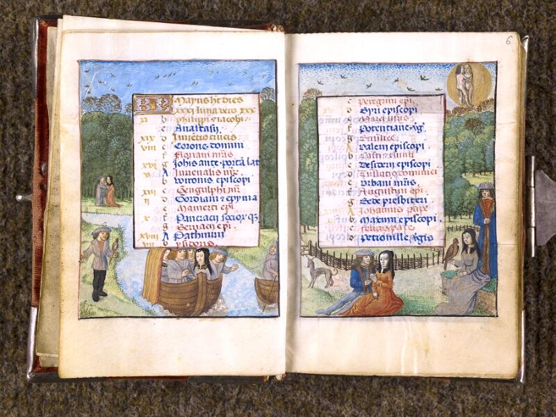 CHANTILLY, Bibliothèque du château, 0068 (1141), f. 005v - 006