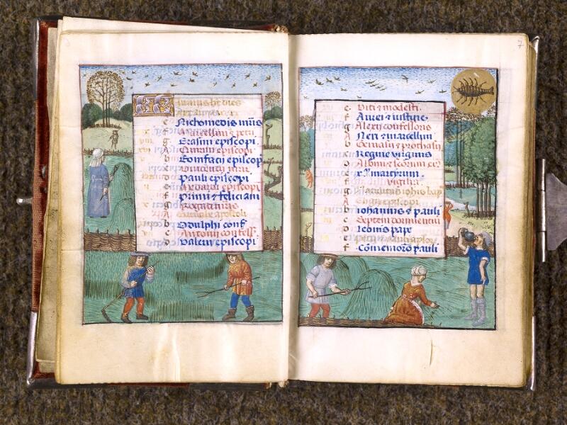 CHANTILLY, Bibliothèque du château, 0068 (1141), f. 006v - 007