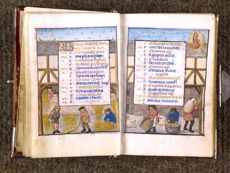 CHANTILLY, Bibliothèque du château, 0068 (1141), f. 008v - 009