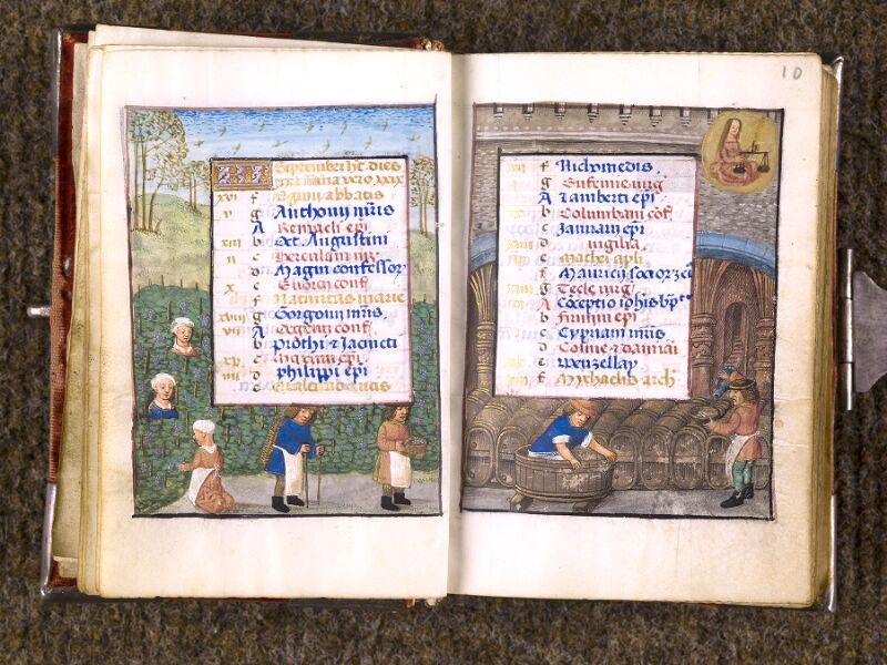 CHANTILLY, Bibliothèque du château, 0068 (1141), f. 009v - 010