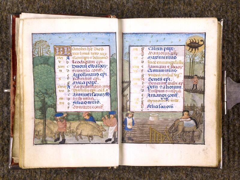 CHANTILLY, Bibliothèque du château, 0068 (1141), f. 010v - 011