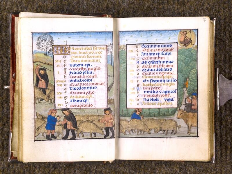 CHANTILLY, Bibliothèque du château, 0068 (1141), f. 011v - 012