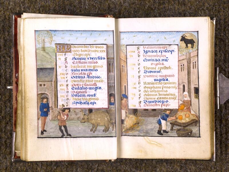 CHANTILLY, Bibliothèque du château, 0068 (1141), f. 012v - 013