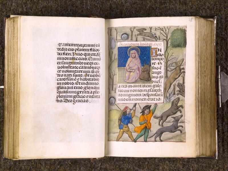 CHANTILLY, Bibliothèque du château, 0068 (1141), f. 047v - 048