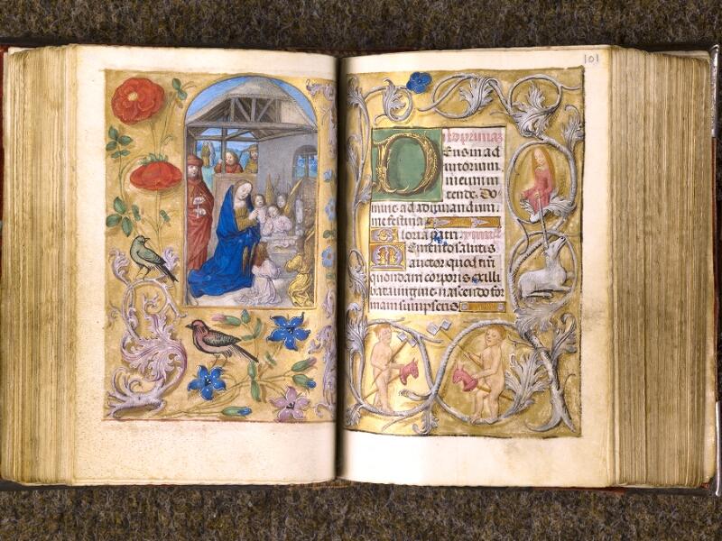 CHANTILLY, Bibliothèque du château, 0068 (1141), f. 100v - 101