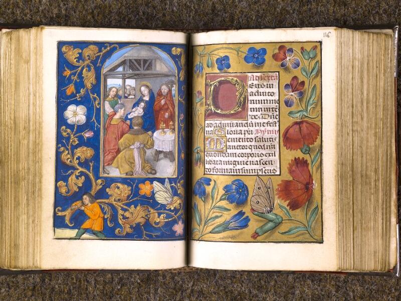 CHANTILLY, Bibliothèque du château, 0068 (1141), f. 115v - 116