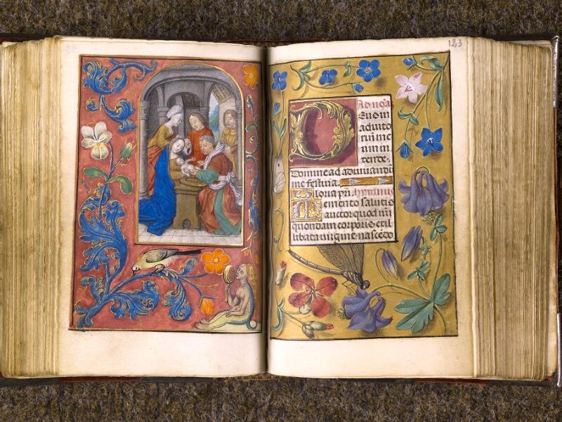 CHANTILLY, Bibliothèque du château, 0068 (1141), f. 122v - 123
