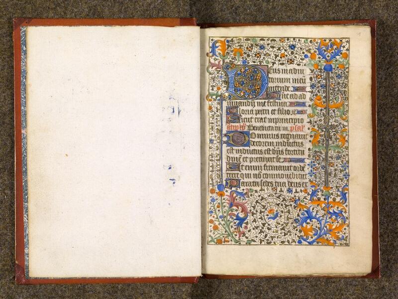 CHANTILLY, Bibliothèque du château, 0073 (1355), contregarde - f. 001