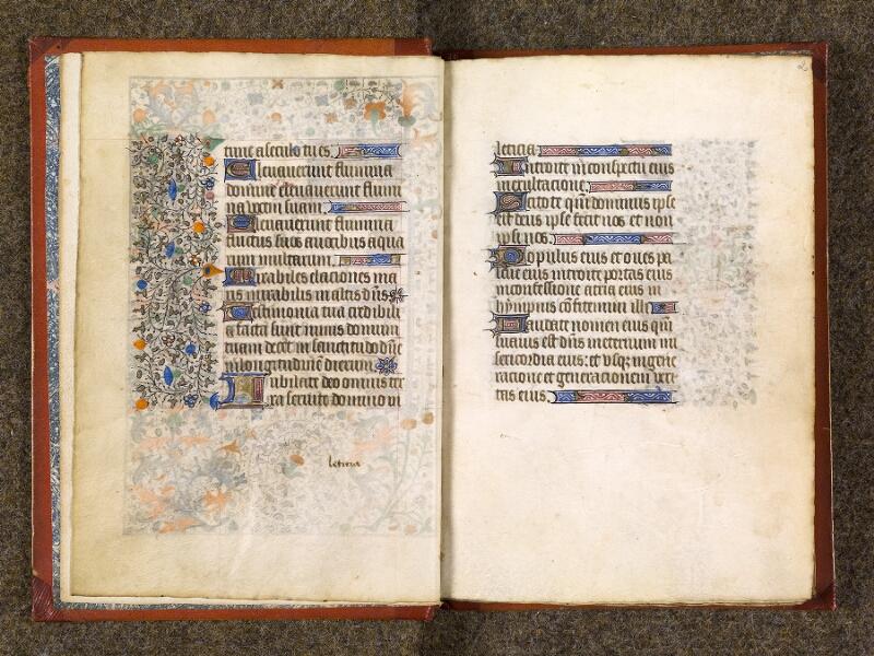 CHANTILLY, Bibliothèque du château, 0073 (1355), f. 001v - 002