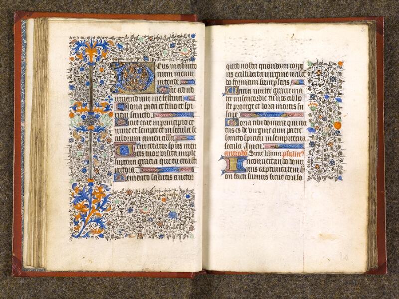 CHANTILLY, Bibliothèque du château, 0073 (1355), f. 019v - 020
