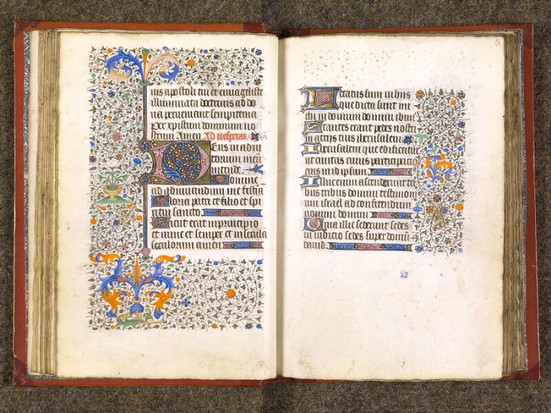 CHANTILLY, Bibliothèque du château, 0073 (1355), f. 023v - 024