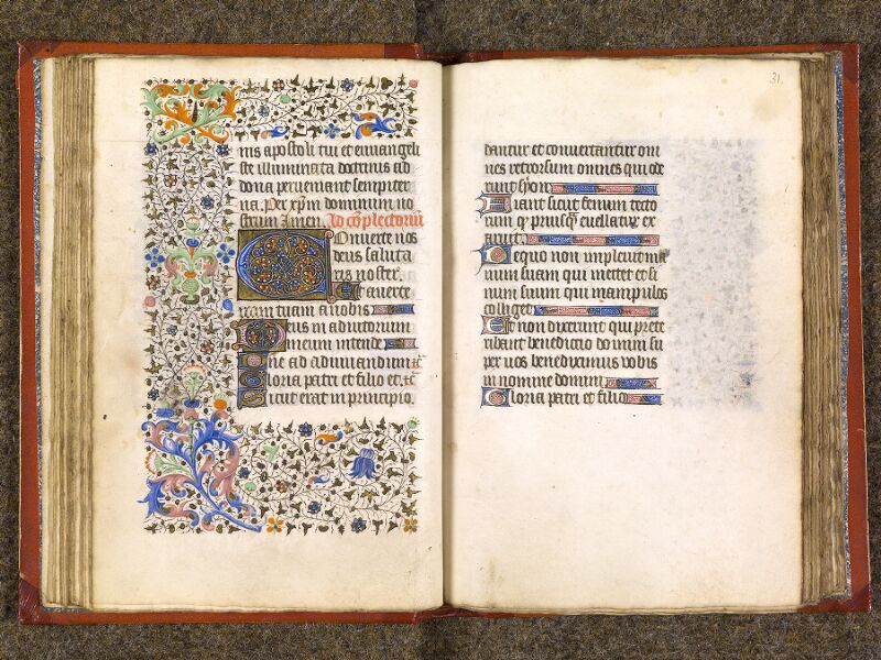 CHANTILLY, Bibliothèque du château, 0073 (1355), f. 030v - 031