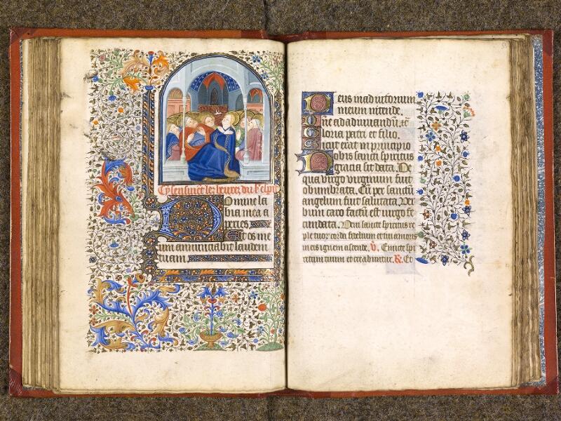 CHANTILLY, Bibliothèque du château, 0073 (1355), f. 052v - 053