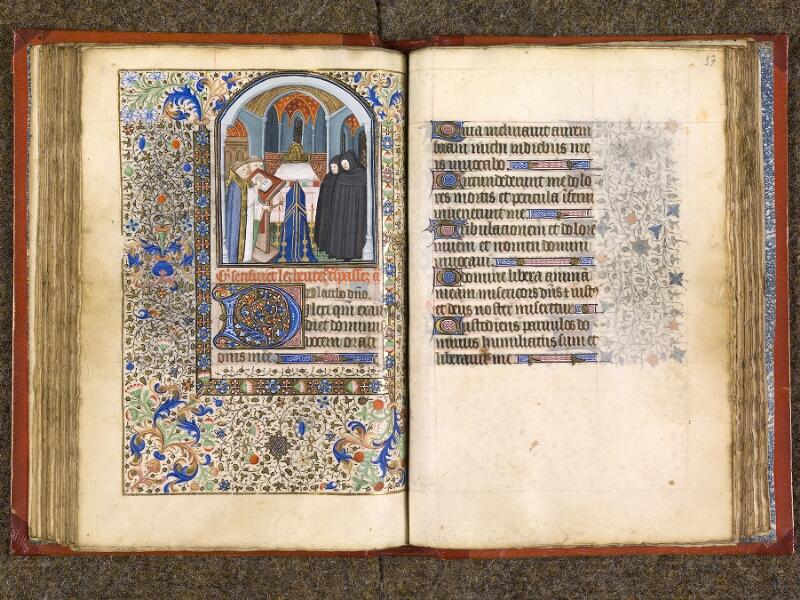 CHANTILLY, Bibliothèque du château, 0073 (1355), f. 056v - 057