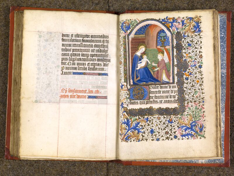 CHANTILLY, Bibliothèque du château, 0073 (1355), f. 082v - 083