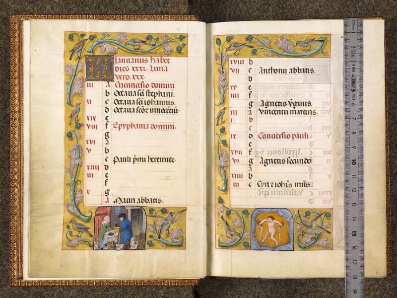 CHANTILLY, Bibliothèque du château, 0077 (1595), f. 003v - 004 avec réglet