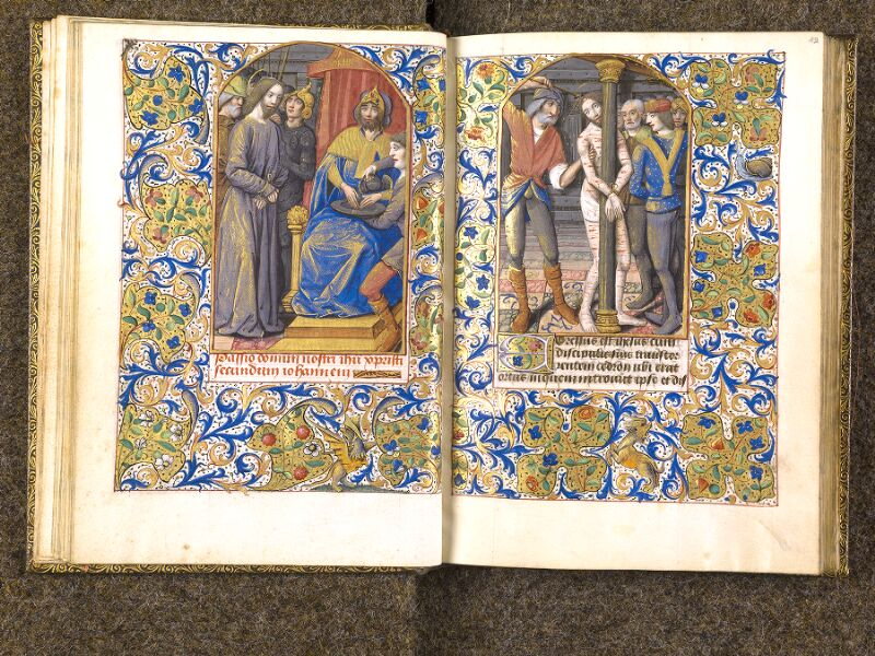 CHANTILLY, Bibliothèque du château, 0079 (1397), f. 018v - 019