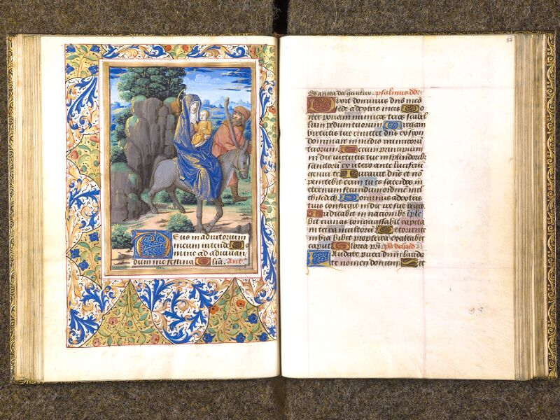 CHANTILLY, Bibliothèque du château, 0079 (1397), f. 056v - 057