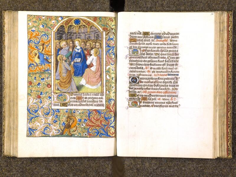 CHANTILLY, Bibliothèque du château, 0079 (1397), f. 095v - 096
