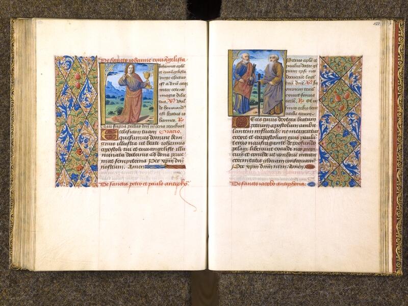 CHANTILLY, Bibliothèque du château, 0079 (1397), f. 127v - 128
