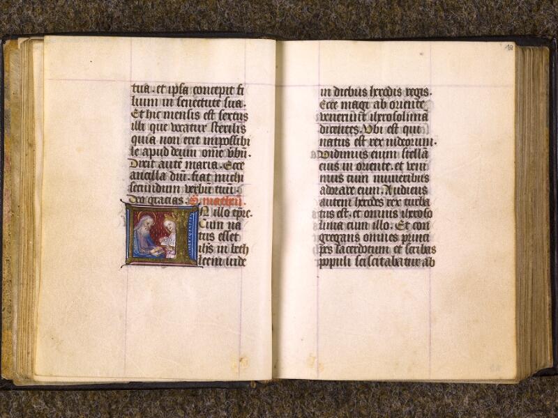 CHANTILLY, Bibliothèque du château, 0080 (1399), f. 018v - 019