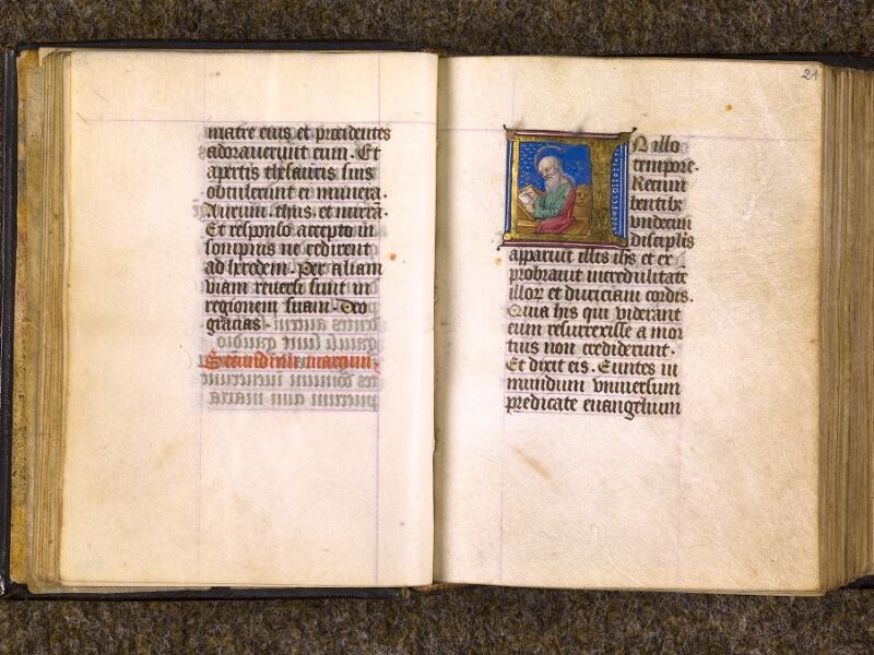 CHANTILLY, Bibliothèque du château, 0080 (1399), f. 020v - 021