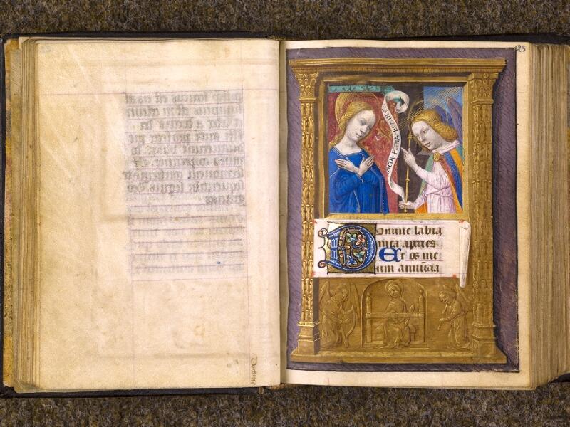 CHANTILLY, Bibliothèque du château, 0080 (1399), f. 022v - 023