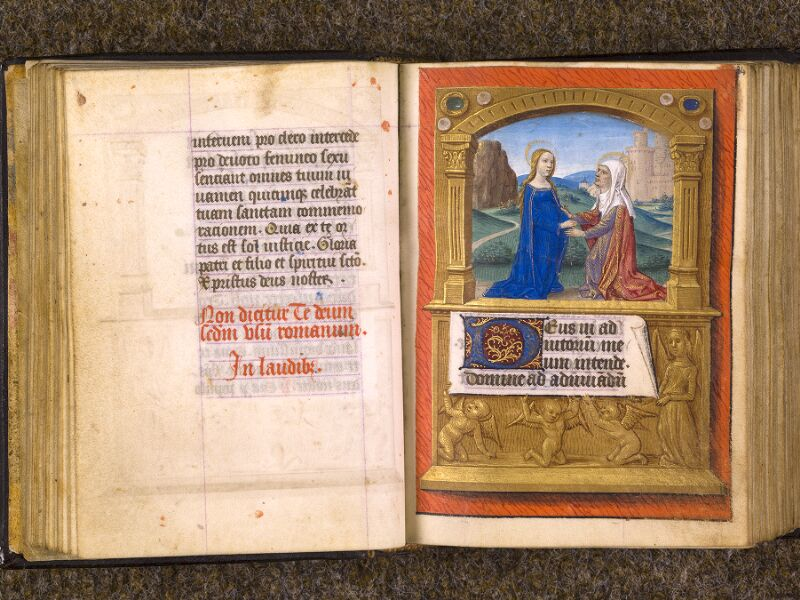 CHANTILLY, Bibliothèque du château, 0080 (1399), f. 033v - 034