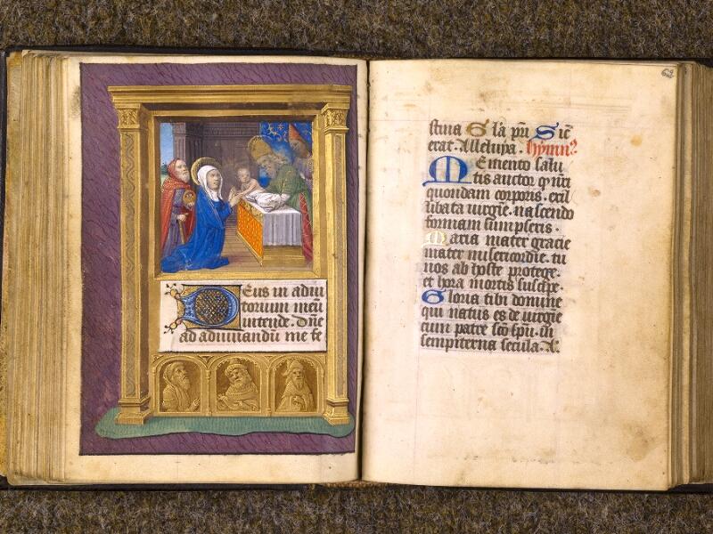 CHANTILLY, Bibliothèque du château, 0080 (1399), f. 061v - 062