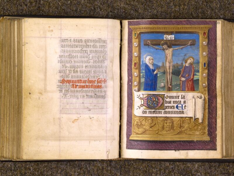 CHANTILLY, Bibliothèque du château, 0080 (1399), f. 082v - 083
